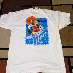 Vintage hard rock San Diego t shirt